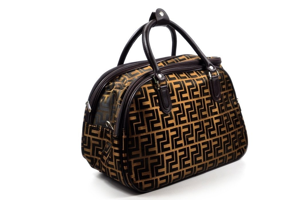 2774c6e9d17a0 TORBA podróżna bagaż podręczny DUŻA brązowa
