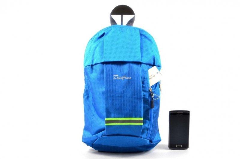 Plecak damski DAVID JONES 5209 niebieski turkusowy