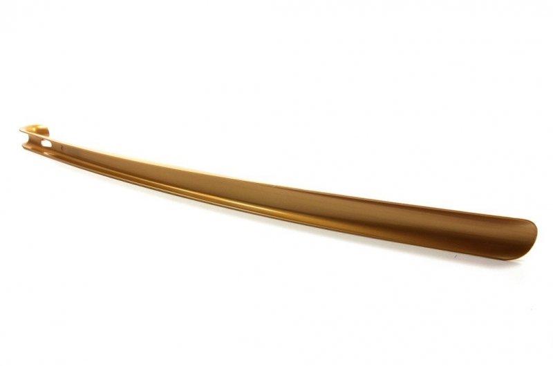Łyżka do butów DŁUGA plastikowa złota COCCINE 65cm