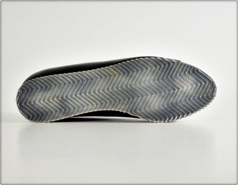 Balerinki czarne srebrne SKÓRA 36 KANIOWSKI Koturn 2330