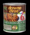 Drewnochron 2w1 Lakierobejca SZARY 0,8L drewna do