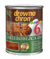 Drewnochron 2w1 Lakierobejca KASZTAN 2,5L drewna do