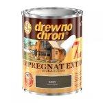 Drewnochron SZARY 0,75L Impregnat Extra drewna do