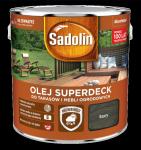 Sadolin Superdeck olej 10L SZARY tarasów drewna do