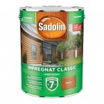 Sadolin Classic impregnat 4,5L MAHOŃ 7 drewna clasic