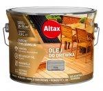 Altax olej do drewna 10L SZARY tarasów