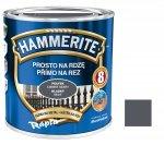 Hammerite Na Rdzę 0,7L CIEMNY SZARY POŁYSK hamerite farba