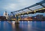 Fototapeta 368x254 8-924 Londyn Most Anglia Miasto Milenijny Architektura Zabytki Budowle