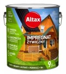 Altax Impregnat 9L KASZTAN Żywiczny Drewna Szybkoschnący