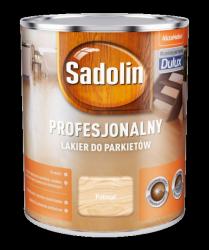Sadolin Lakier Profesjonalny PÓŁMAT 0,75L parkietu dulux podłóg drewna