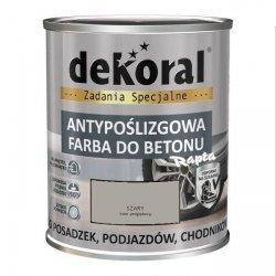 Dekoral Do Betonu 0,75L SZARY Akrylit B Antypoślizgowa Farba