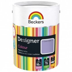 Beckers 2,5L CROCUS VIOLET Designer Colour farba lateksowa