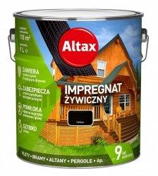Altax Impregnat 9L HEBAN Żywiczny Drewna Szybkoschnący