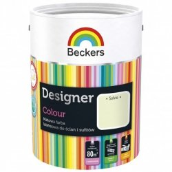 Beckers 2,5L SALVIA Designer Colour farba lateksowa