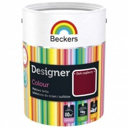 Beckers 2,5L DARK RASPBERRY Designer Colour farba lateksowa