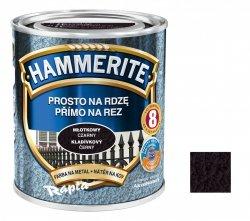 Hammerite Na Rdzę 0,7L CZARNY MŁOTKOWY hamerite farba czarna