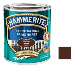 Hammerite Na Rdzę 2,5L BRĄZOWY MAT hamerite farba