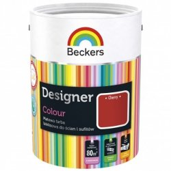 Beckers 2,5L CHERRY Designer Colour farba lateksowa
