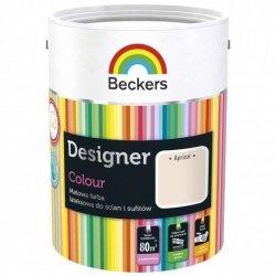 Beckers 2,5L APRICOT Designer Colour farba lateksowa
