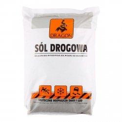 Sól drogowa DRAGON 25kg - CHLOREK SODU
