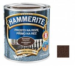 Hammerite Na Rdzę 2,5L BRĄZOWY MŁOTKOWY hamerite farba