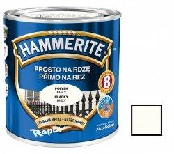 Hammerite Na Rdzę 2,5L BIAŁY POŁYSK hamerite farba biała