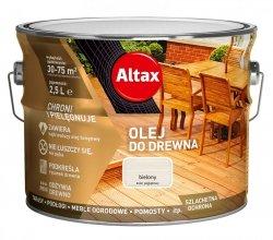 Altax olej do drewna 5L BIELONY BIAŁY tarasów