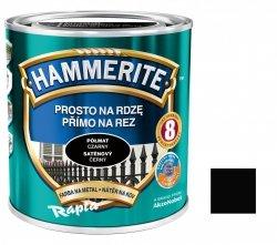 Hammerite Na Rdzę 2,5L CZARNY PÓŁMAT hamerite farba czarna