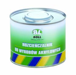BOLL Rozcieńczalnik do wyrobów akrylowych 0.5L rozpuszczalnik