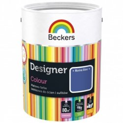 Beckers 5L MARINA BLUE Designer Colour farba lateksowa