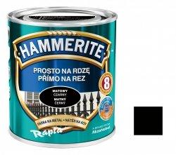 Hammerite Na Rdzę 0,25L CZARNY MAT hamerite farba czarna