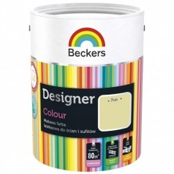 Beckers 5L PEAR Designer Colour farba lateksowa