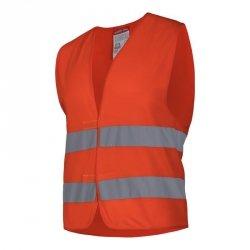 LAHTI PRO Kamizelka odblaskowa S pomarańczowa ostrzegawcza robocza