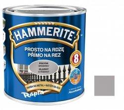 Hammerite Na Rdzę 0,25L SREBRNY POŁYSK hamerite farba