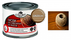 Colorit Wosk Drewna Pasta 0,5L ORZECH 500ml do