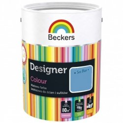 Beckers 2,5L SEA BLUE Designer Colour farba lateksowa