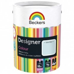 Beckers 2,5L SATIN BLUE Designer Colour farba lateksowa