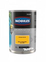 Chlorokauczuk 1L ŻÓŁTY SYGNAŁOWY RAL 1003 Nobiles farba emalia