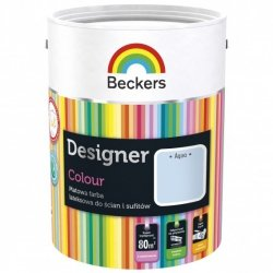 Beckers 5L AQUA Designer Colour farba lateksowa