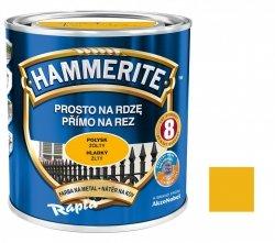 Hammerite Na Rdzę 0,7L ŻÓŁTY POŁYSK hamerite farba