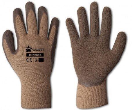 Rękawice Ochronne Robocze ZIMOWE Ocieplane 10 XL