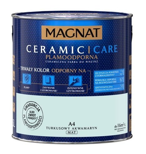 MAGNAT Ceramic Care 2,5L A4 Turkusowy Akwamaryt