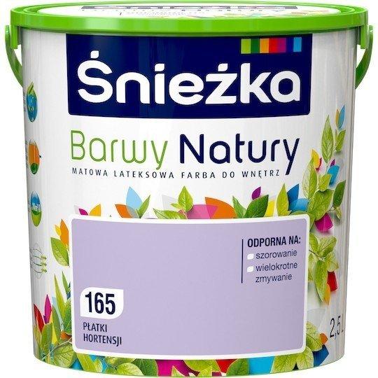 Śnieżka Barwy Natury 2,5L Płatki Hortensji 165 Farba