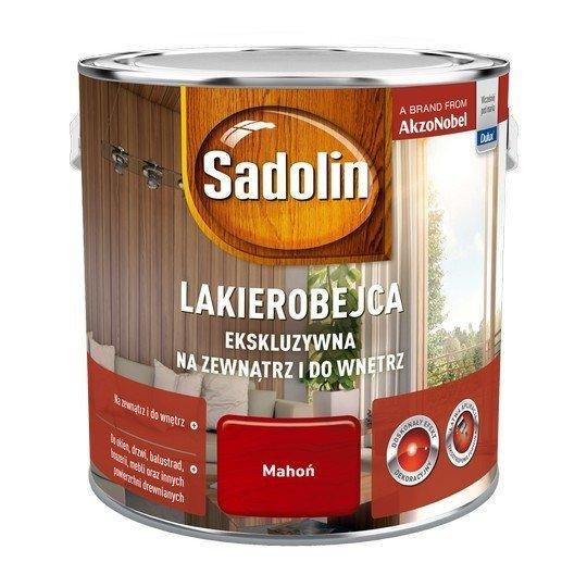 Sadolin Ekskluzywna lakierobejca 2,5L MAHOŃ drewna
