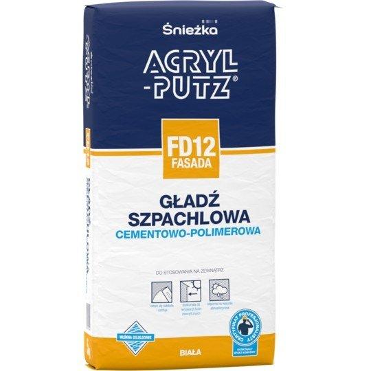 Acryl-Putz Gładź cementowo-polimerowa FASADA 5kg FD12 sypka