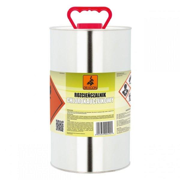 Rozpuszczalnik chlorokauczukowy 5L Dragon rozcieńczalnik