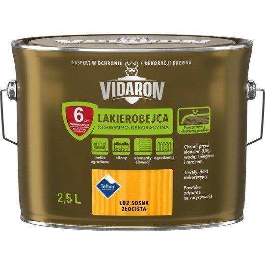 Vidaron Lakierobejca 2,5L L02 Sosna Złocista do drewna