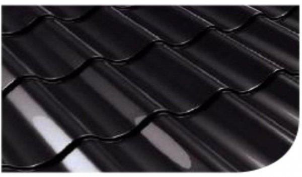 Śnieżka na dach Czarny 0,75L RAL9005 czarna farba