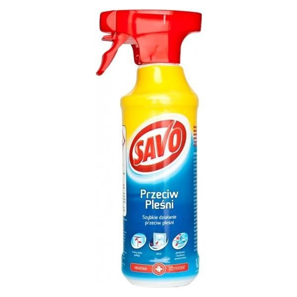 Savo Środek Przeciw Pleśni 500ml grzybom glonom spray grzybobójczy