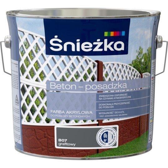 Śnieżka Beton Posadzka GRAFITOWY B07 3L farba do betonu